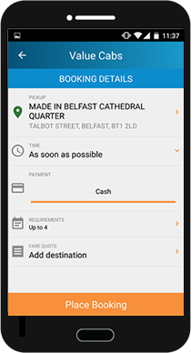 Belfast Taxis Value Cabs Ltd