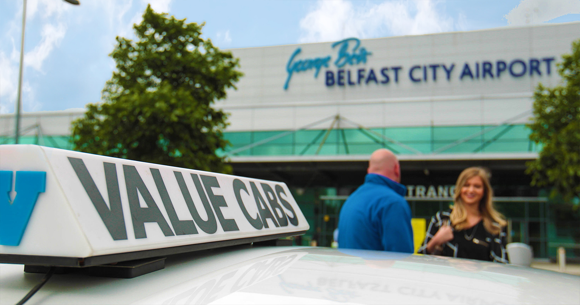 Value Cabs at Belfast City Airport