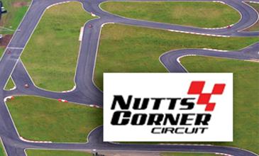 Nutts Corner Go Karting Logo